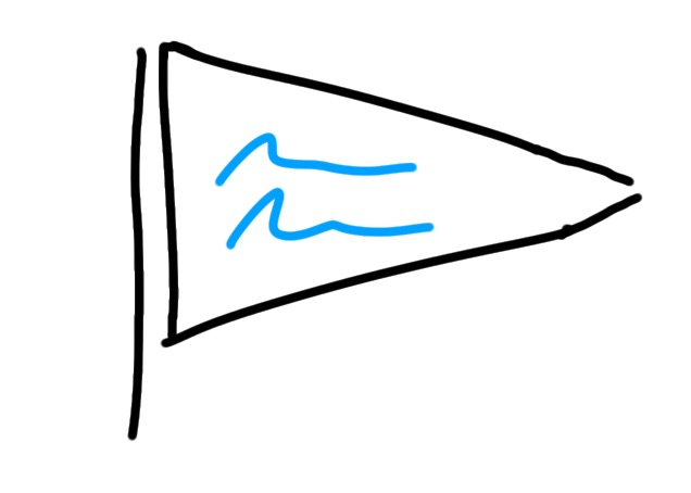 drawing_frame_triangle_flag