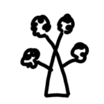 free icon tree symbol