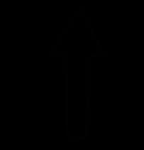 free icon upward arrow