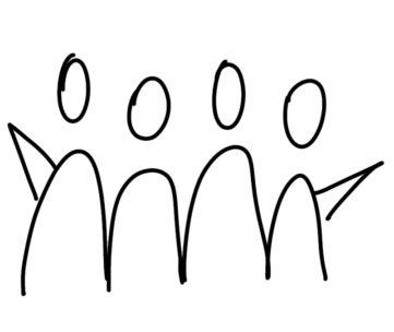 draw a team for sketchnotes