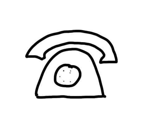 sketchnote_icon_classic_phone